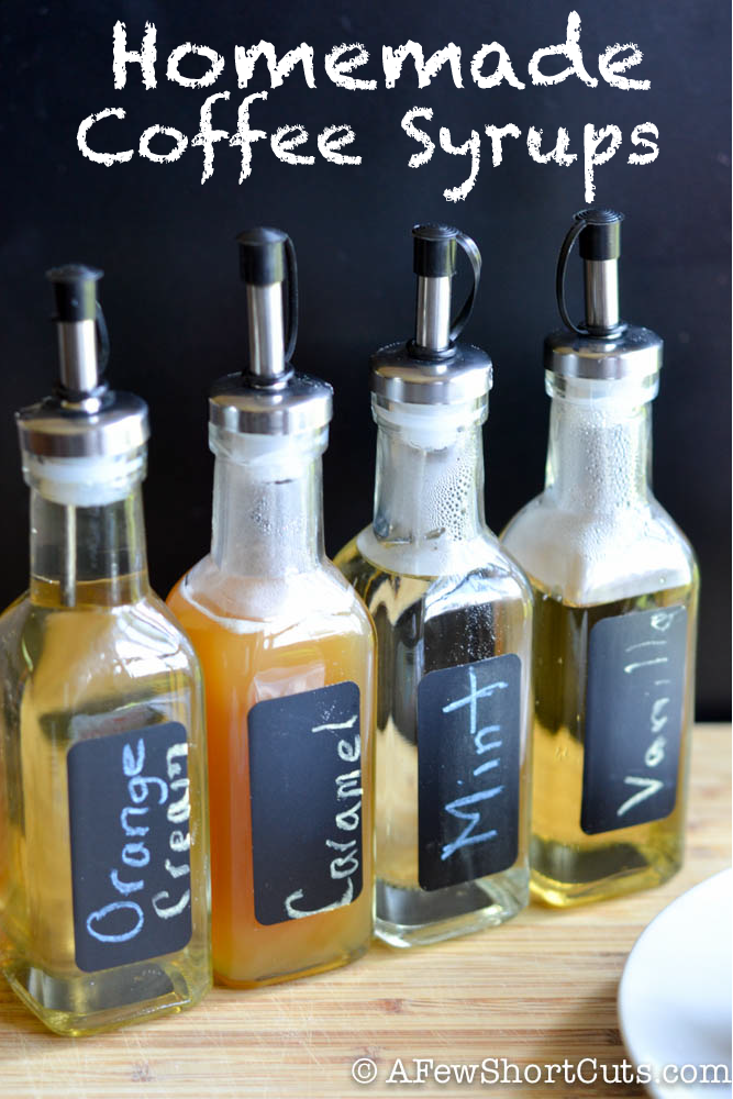 Photo of Homemade Coffee Syrups Recipes