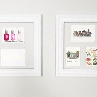 Another creative use for Add A Frame. DIY Wall Art!