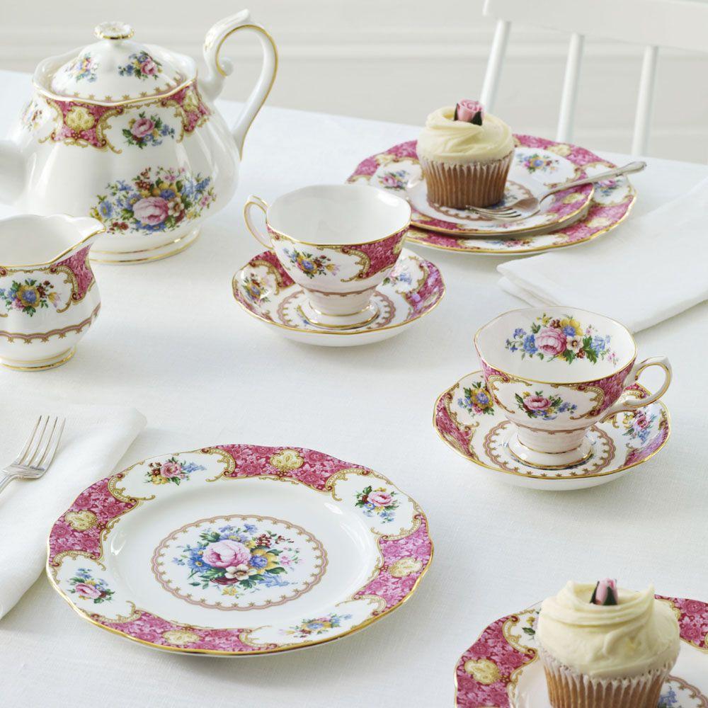 Royal Albert Lady Carlyle 20 Piece Set Servies Serviesgoed
