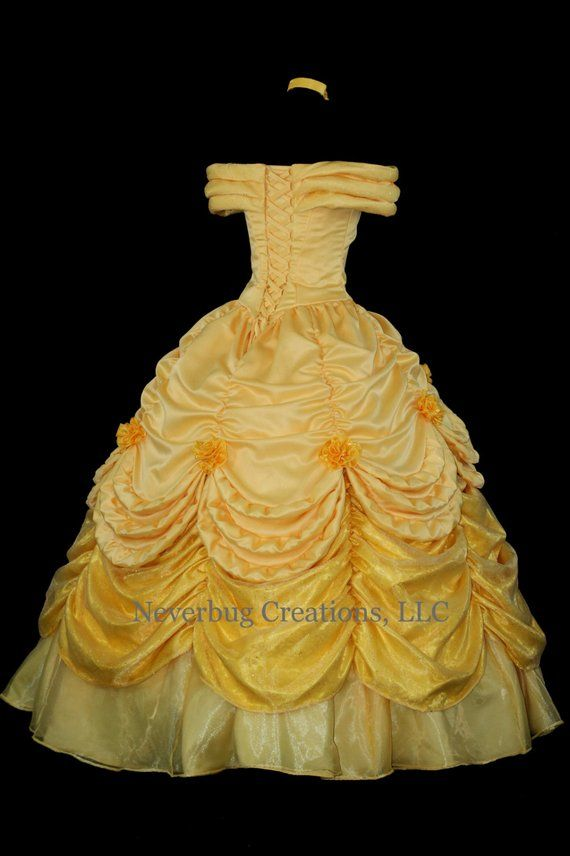 3d8b05ae7f Beauty and the Beast Belle Parade Gown Custom Costume | Disney ...