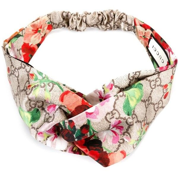 hot products sale online promo code Gucci Silk Head Band (€280) ❤ liked on Polyvore featuring ...