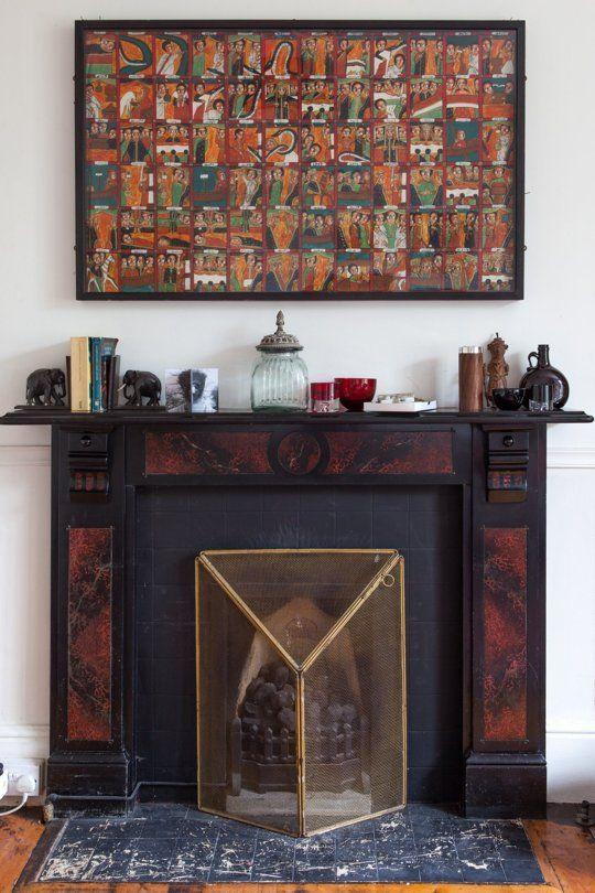A Uk Victorian Full Of Art Vintage Style Victorian Homes Elegant Home Decor Elegant Homes