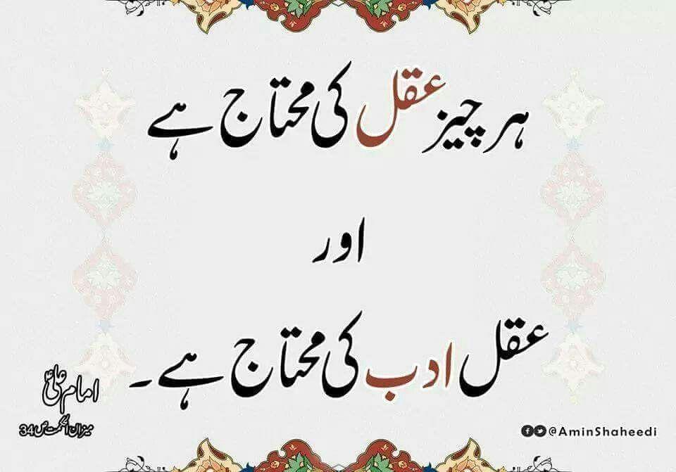 Pin By Islamic Education On 100 Hazrat Ali Quotes In Urdu