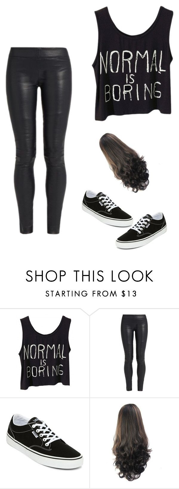 """""""Normale  is boring"""" by coolgirl12345678910 ❤ liked on Polyvore featuring The Row and Vans"""