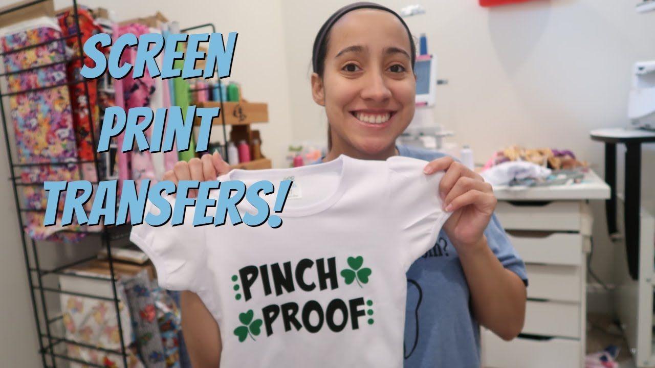 Making A Shirt With Screen Print Transfer Packaging Transfer Orders Et In 2020 Making Shirts Screen Printing Print