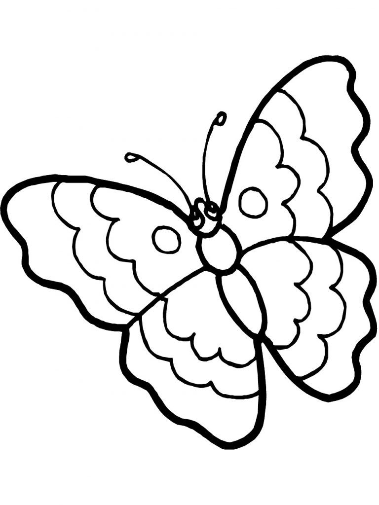 Free Printable Butterfly Coloring Pages For Kids Butterfly Coloring Page Coloring Pictures For Kids Flower Coloring Pages