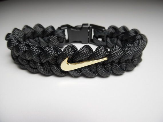 NIKE Paracord Bracelet FREE SHIPPING by Paracord Links on Etsy $19.65