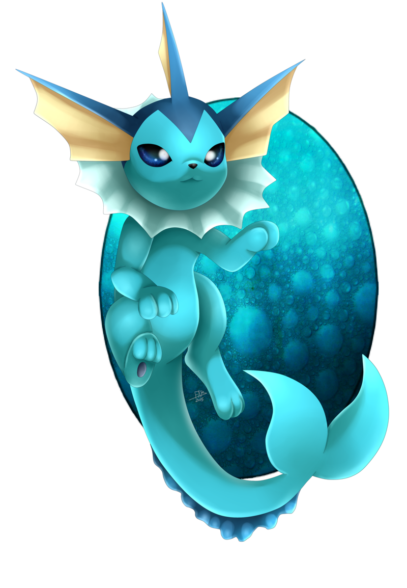 Vaporeon by ShinyhunterF.deviantart.com on @DeviantArt | Pokémon Fan ...
