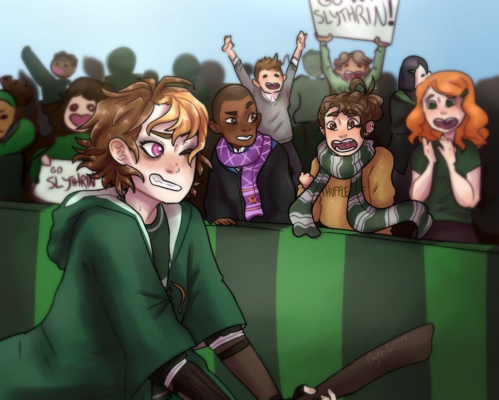 Quidditch Merula By Pigte On Deviantart Hogwarts Mystery Slytherin Harry Potter Harry Potter Rpg