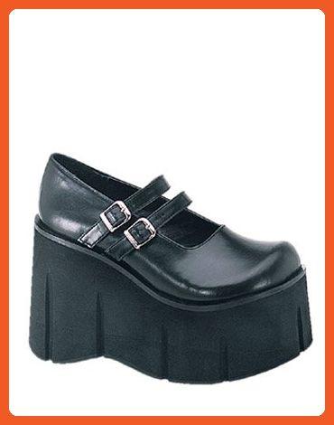 47a177d6a34ca8 Demonia High Goth Wedge Mary Jane Platform Shoe - 11 - Pumps for women  ( Amazon Partner-Link)
