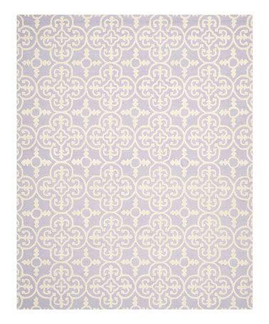 Lavender Coronado Wool Rug #zulily #zulilyfinds