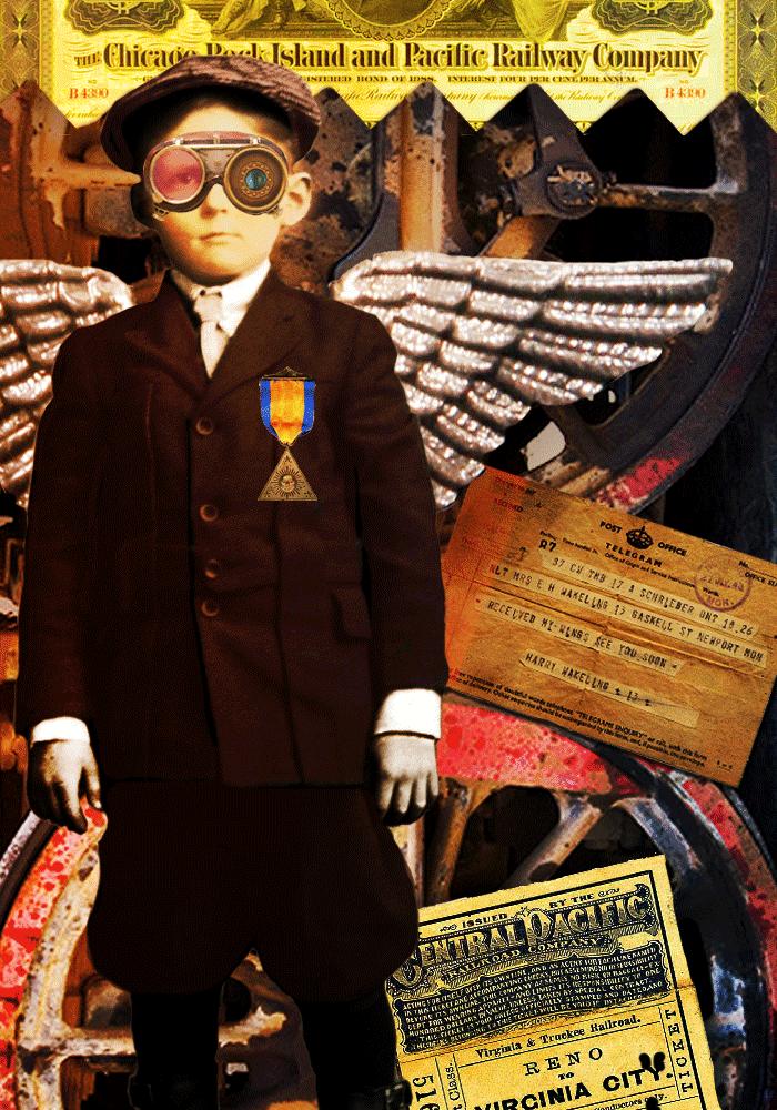 Steampunk Boy by Donna Dickerson