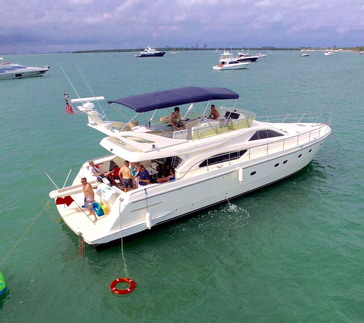 Yacht Party Als Miami Boat Experts Charter 12 Guests 2k Call Us