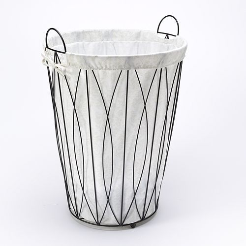 Pin By Shannon Warden On Side Tables Laundry Hamper Metal