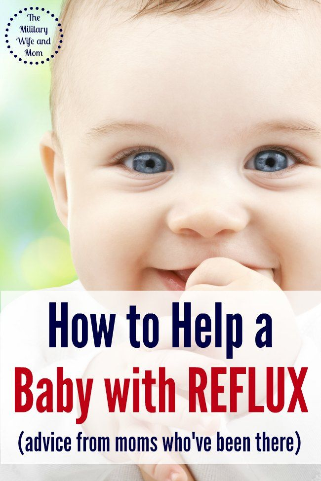 how to know when your baby has reflux