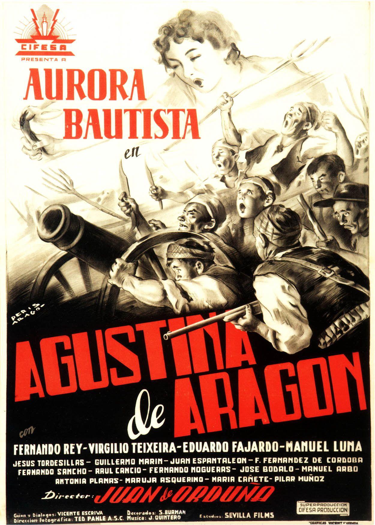 Agustina De Aragón 1950 Esp Tt0042185 C 02 Carteles De Cine Cartel Criticas De Cine