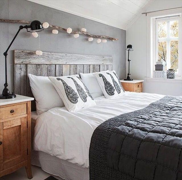 Wunderbar DIY Bett: Kopfteil Selbst Bauen Aus Paletten