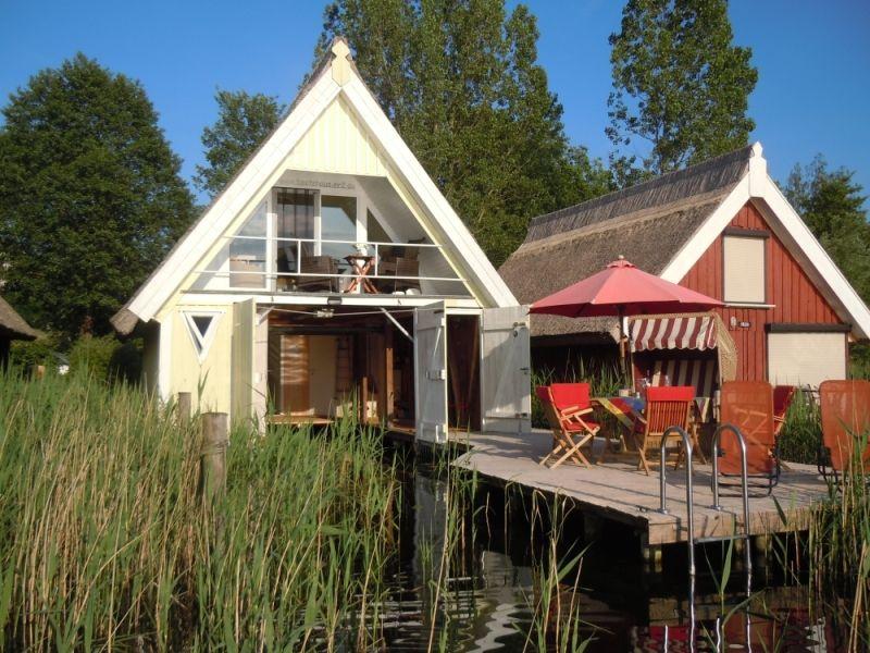 Bootshaus Nr 2 In Mirow Ferien Am Granzower Moschen Bootshaus Ferienhaus Am See Deutschland Ferienhaus Am See