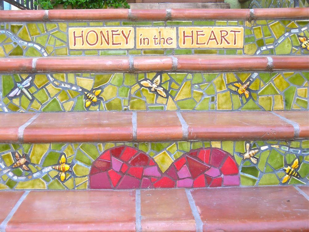 Honey in the heart.