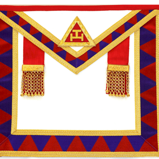 Royal Arch Member Apron | FreeMason | Freemason symbol, Apron, Freemason