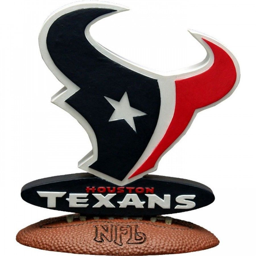 The Memory Company Houston Texans 3D Logo Figurine NFL