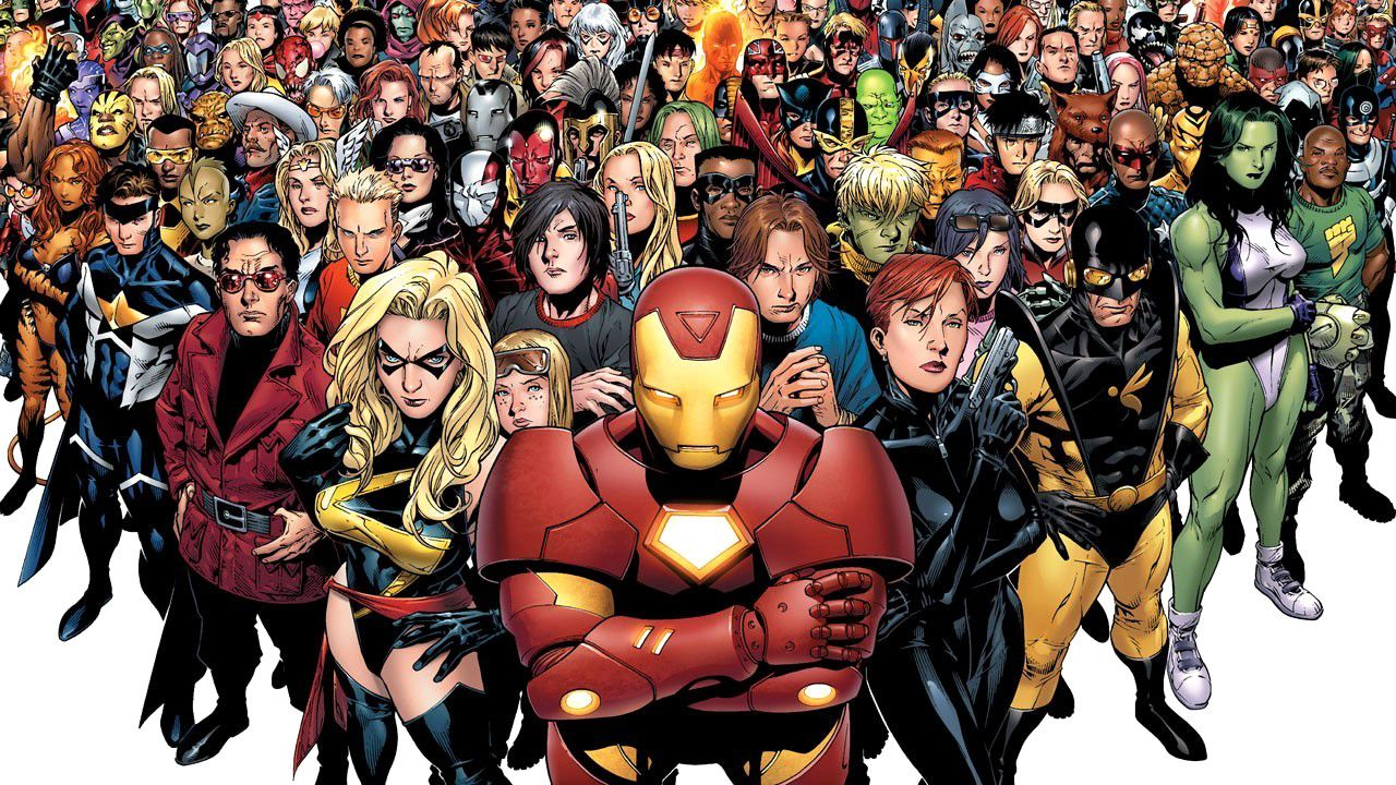 infographic heres every avenger that marvel ever invented a douchebags perspective
