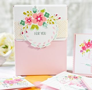For You Stationery Box by Betsy Veldman for Papertrey Ink (April 2016)