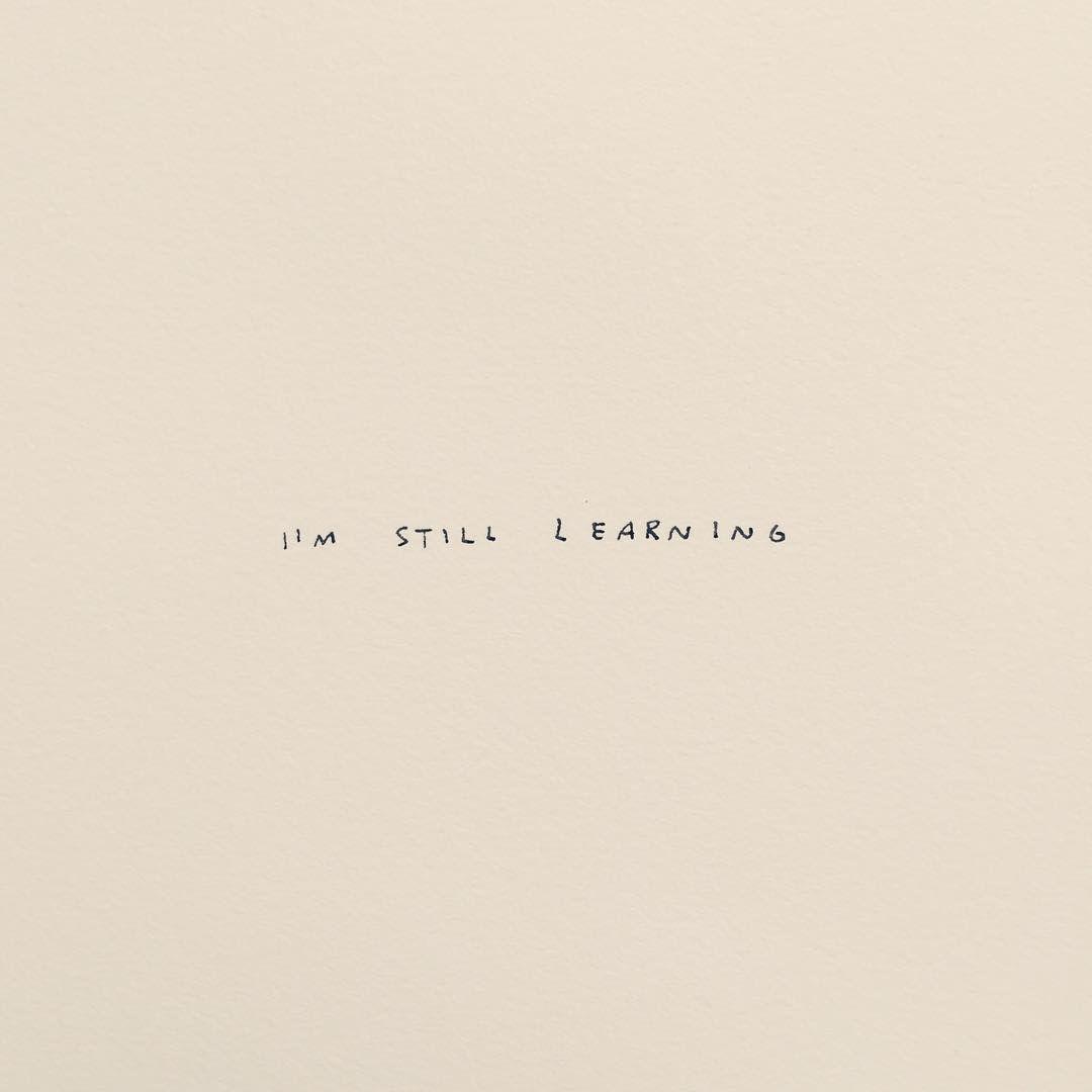 I'm still learning....