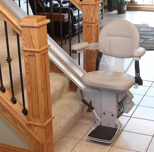 5 Benefits Installing A Stair Lift Senior Com Stair Lifts Stair Lift Modern Bathroom Design