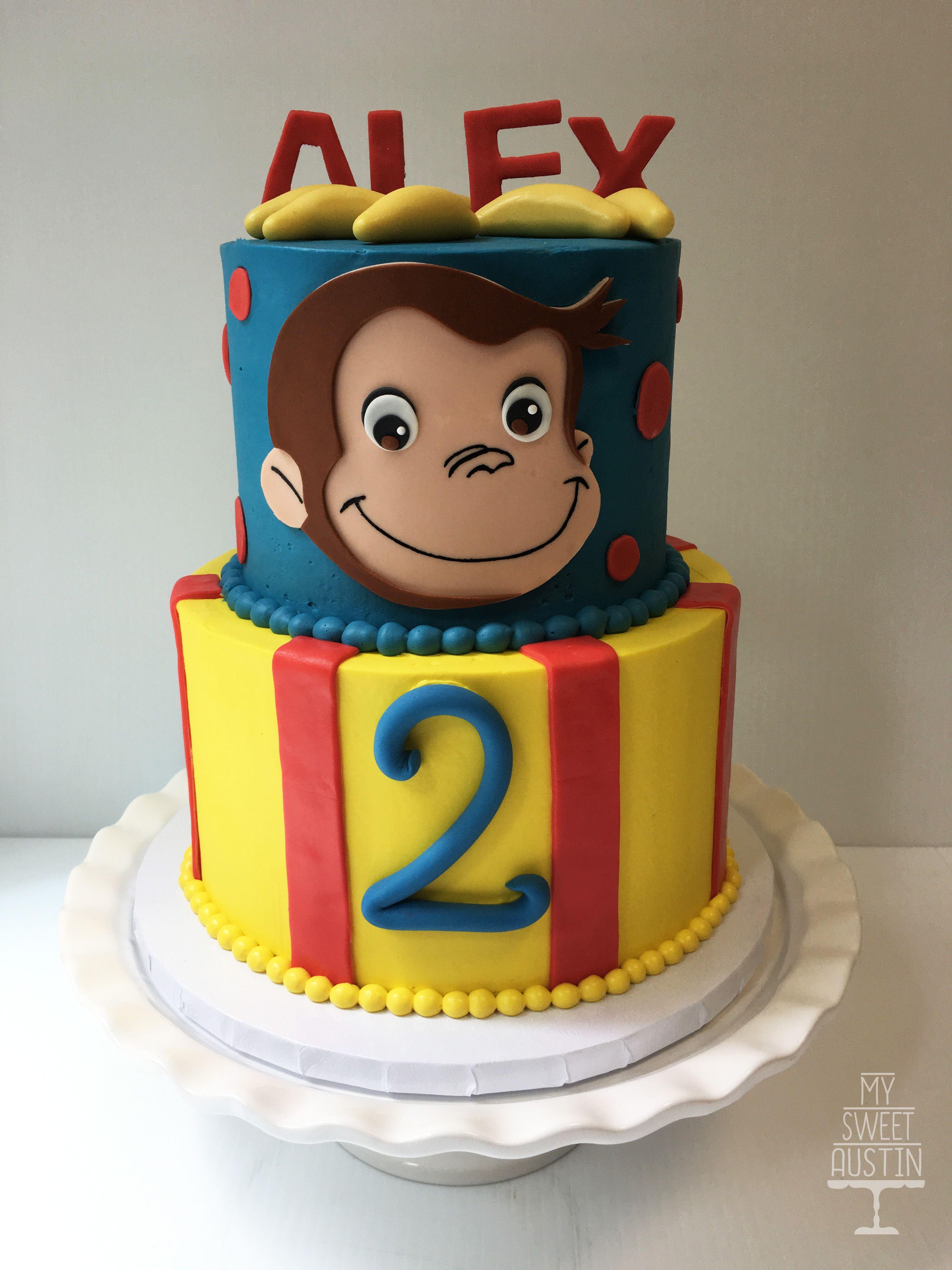 Curious George Cake My Sweet Austin Www Mysweetaustin Com