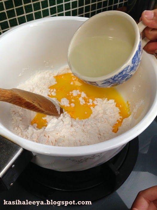 The Kasihs Resepi Puding Jagung Kastard Food Cara Cara