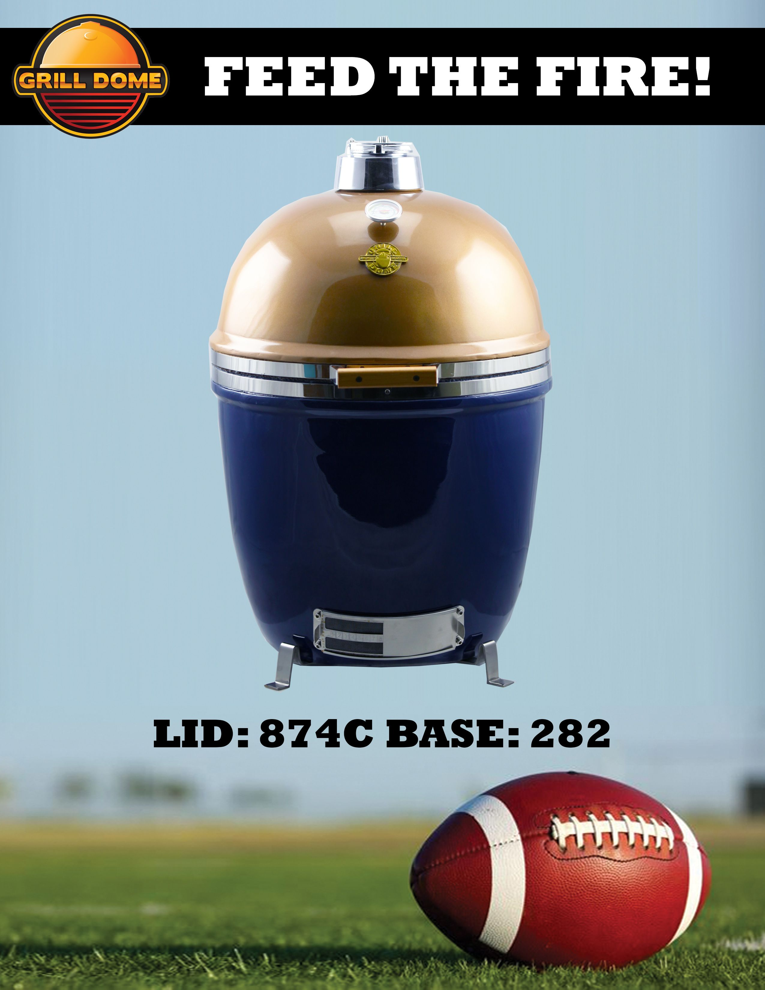 Know any Notre Dame Football fans? Know any that are also grill ...