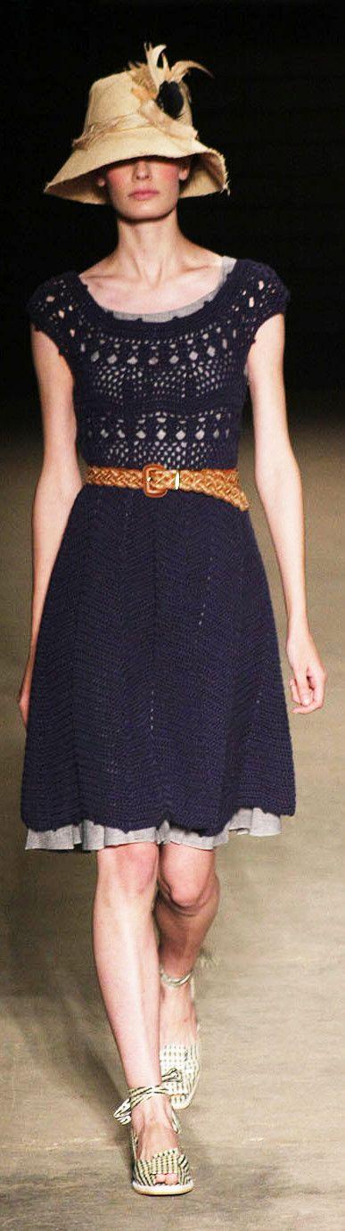 Cavendish at Fashion Rio, Summer 2010. Crochet Dress