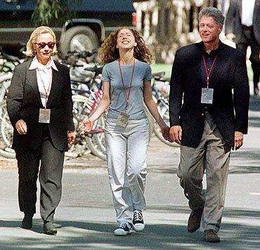 America Awaits Super Secret Clinton Wedding Rediff News