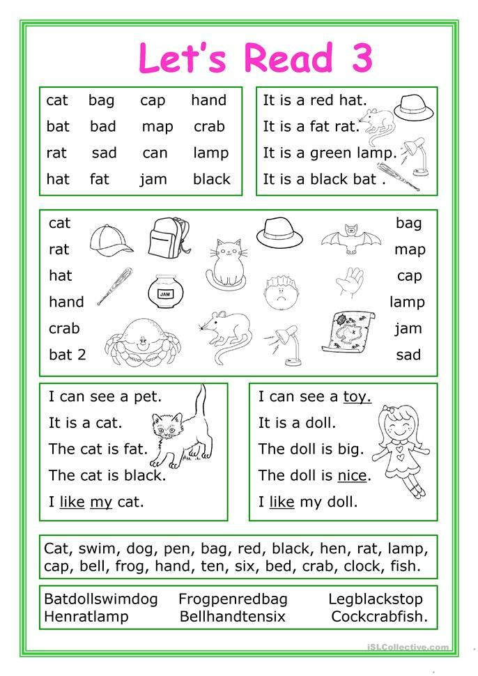 Let's Read 3 Reading fluency, Reading comprehension