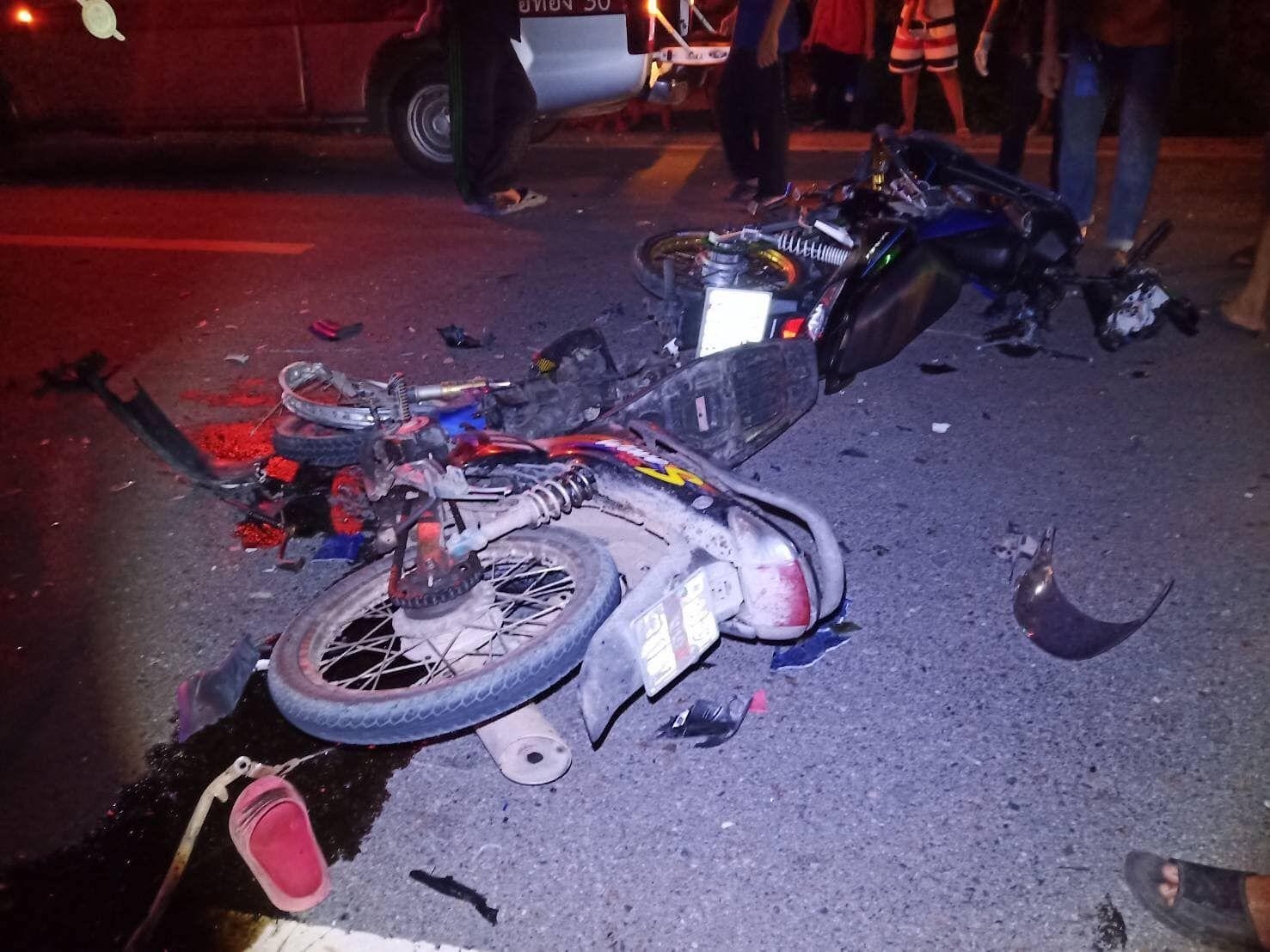 One Killed One In Coma After Chonburi Motorbike Accident Thepattayanews Pattayanews Pattaya Crash Motorbikes
