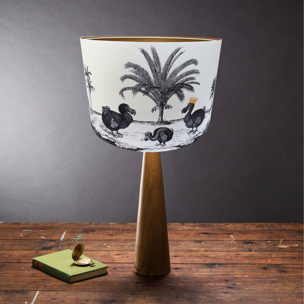 Dodo lampshade lamp shades handmade lampshades lampshades
