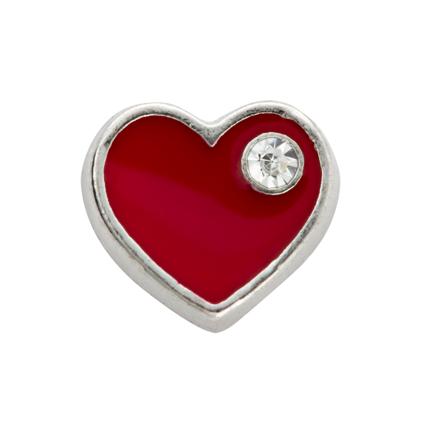 PIPPA&JEAN dreamees - RED HEART WITH CRYSTAL