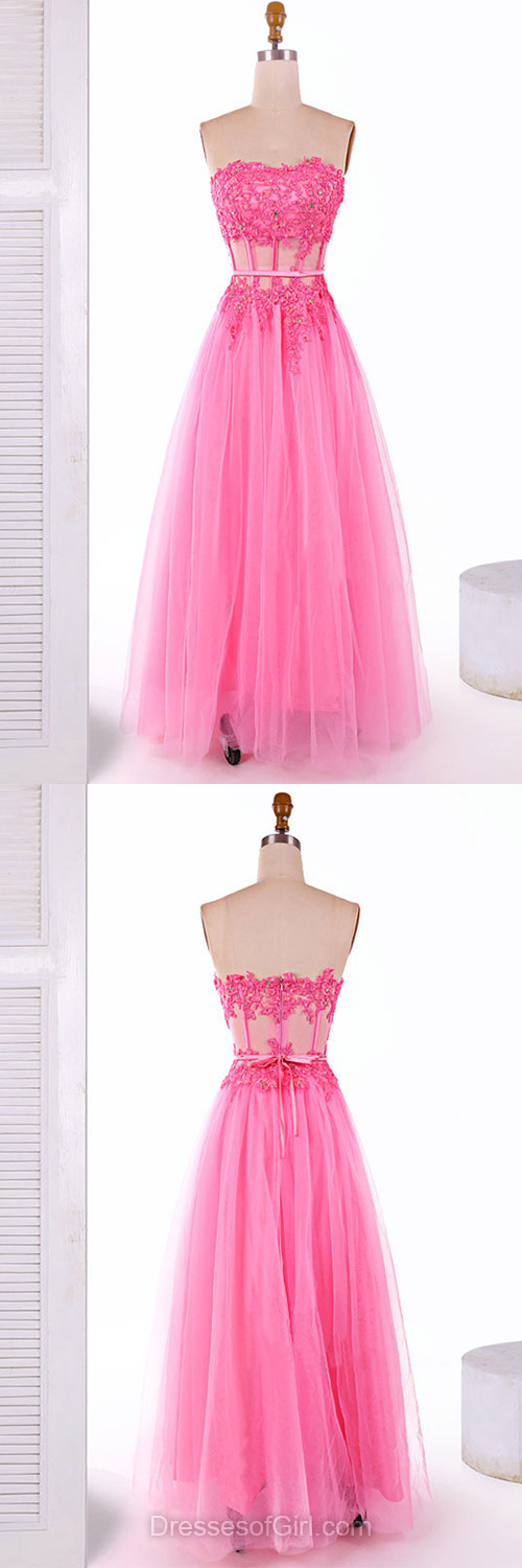 Sweetheart Prom Dress, Princess Prom Dresses, Tulle Evening Dresses ...