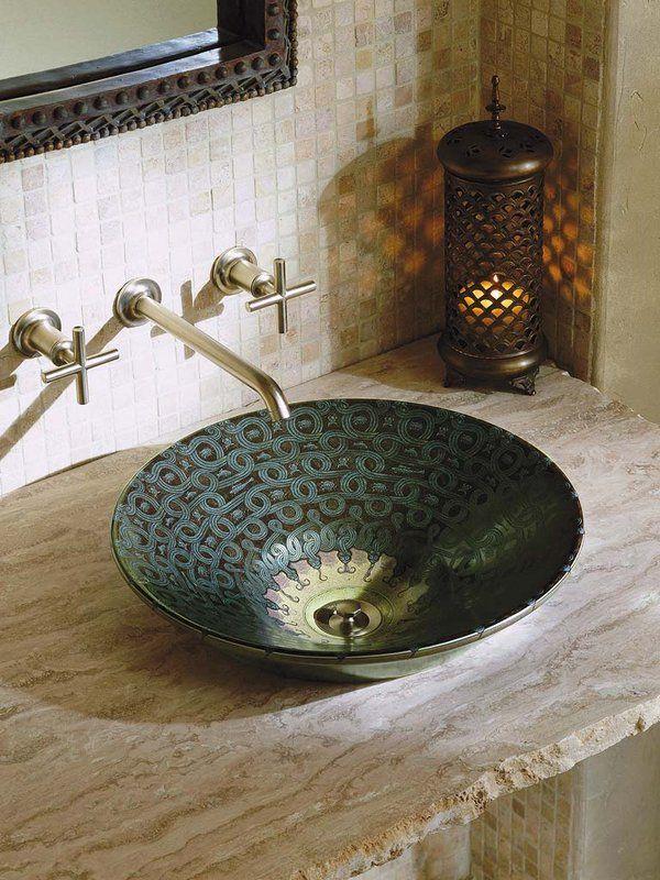 Nuevos lavamanos | Cuartos de baños pequeños, Lavamanos y ...