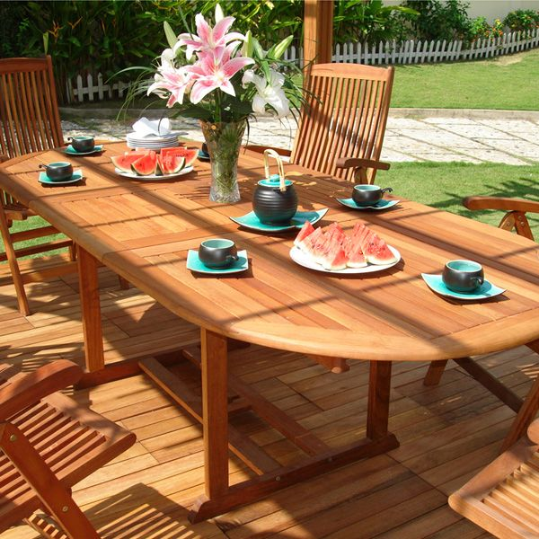 Vifah 441 Extension Outdoor Dining Table From The Escape Collection | Inmod  Modern Furniture Blog