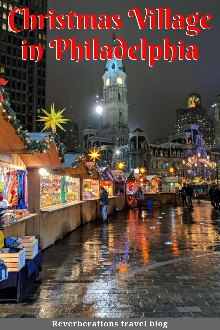 Christmas Village Philly.Philly S Christmas Village Delights With German Tradition