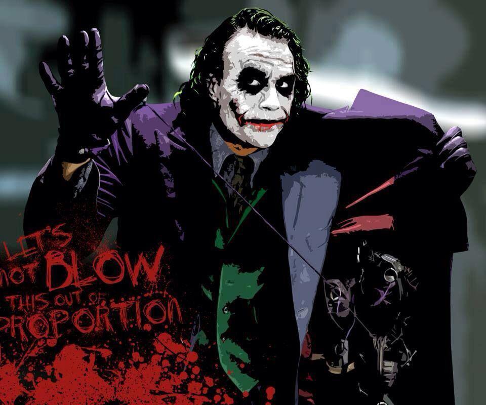 No Dejes Que Esto Explote Joker Joker Caballero De La Noche