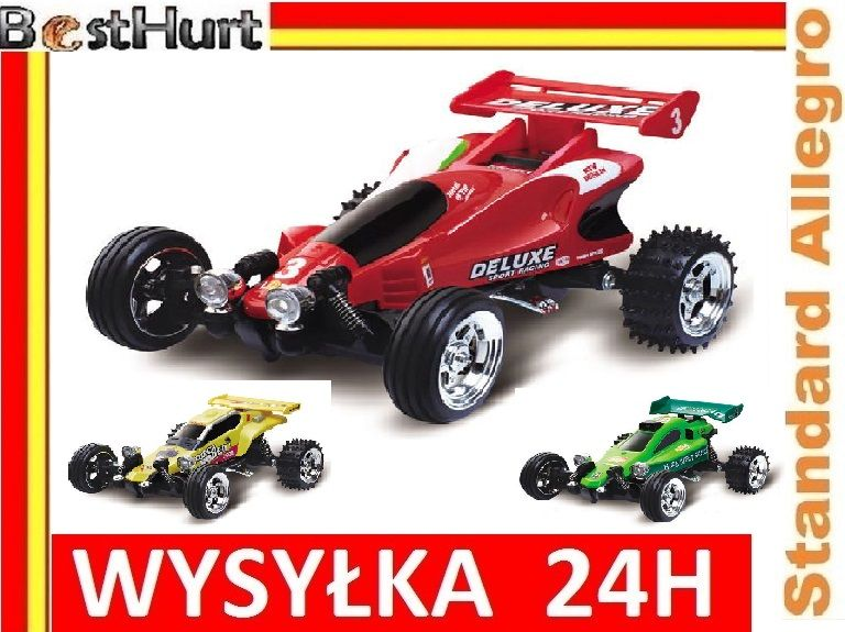 Samochod Wyscigowy Buggy R C 4 Kolory 4 Czestotli Toy Car
