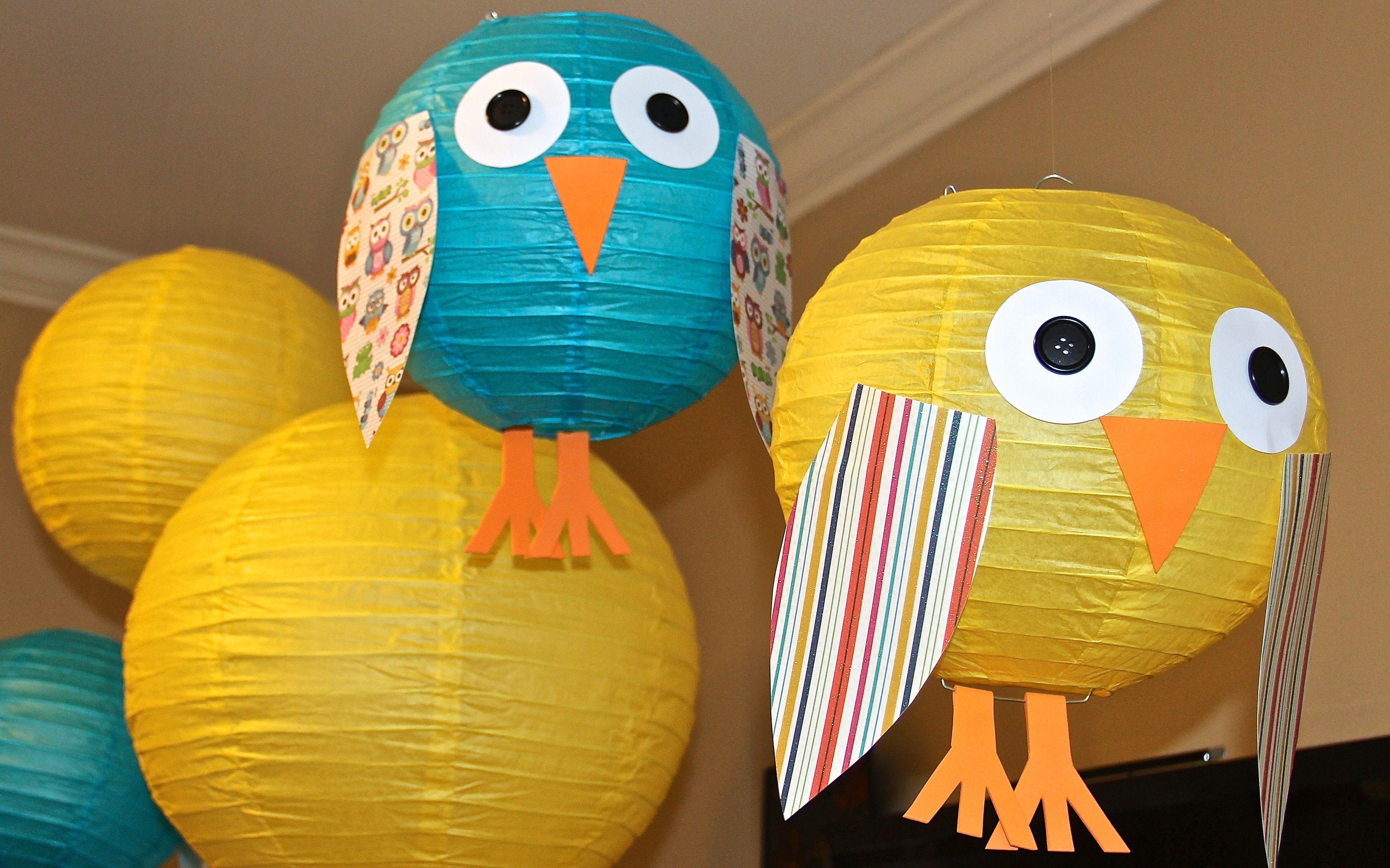 Owl Paper Lanterns Lantern
