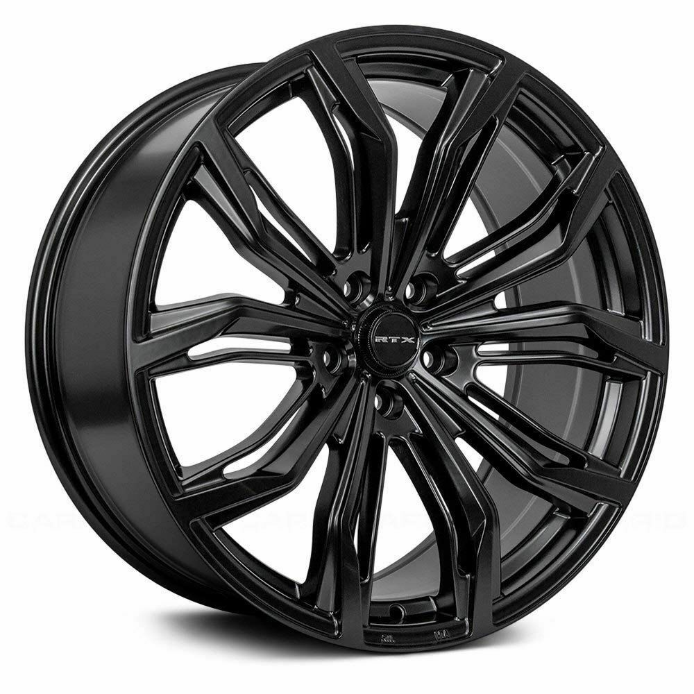 Rtx Wheels In 2020 Bolt Pattern Black Widow Black Wheels