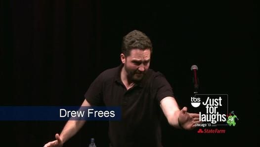 Just for Laughs Chicago 2013 Drew Frees - Video Dailymotion #JustForLaughs #comedy