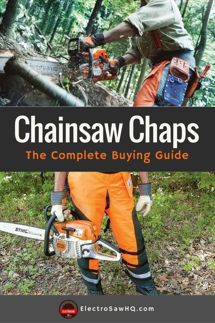 Best chainsaw chaps the complete buying guide