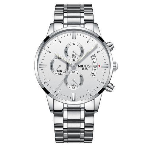 eaf47b62f3e Relógio NIBOSI Inox Funcional - Dali Relógios