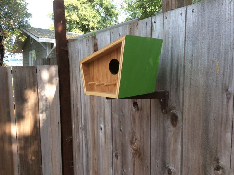Mid Century Contemporary Birdhouses